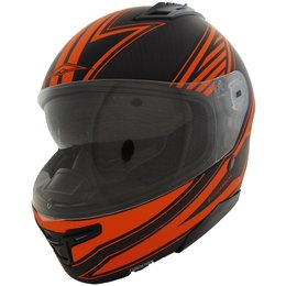 Vega Stealth F117 F-117 Optic Highway Carbon Fiber Quick Release Helmet Orange