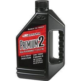 Maxima Premium 2 Synthetic Blend High Performance 2-Stroke Engine Oil 1 Gallon Unpainted