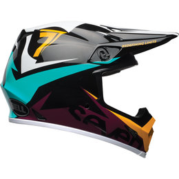 Bell Powersports MX-9 MIPS Seven Ignite Helmet Black