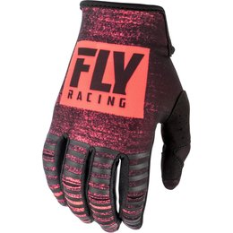 Fly Racing Mens Kinetic Noiz Gloves Red