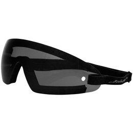 Smoke Bobster Wrap Goggles Black W Lens