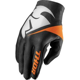 Thor Mens Invert Flection Textile Gloves Black
