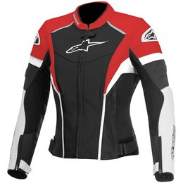 Alpinestars Womens Stella GP Plus R Perforated Armored Leather Jacket Black