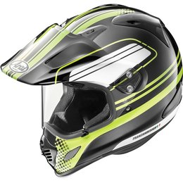 Arai XD-4 Distance Dual Sport Helmet With Flip Up Shield & Visor Yellow