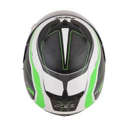 AFX FX-105 FX105 Thunderchief Full Face Helmet Green