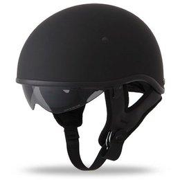 Flat Black Fly Racing .357 Half Helmet 2013