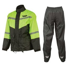 Fly Racing 2 Piece Rain Suit Green