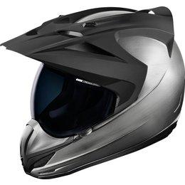 Icon Variant Quicksilver Dual Sport Adventure Helmet Silver