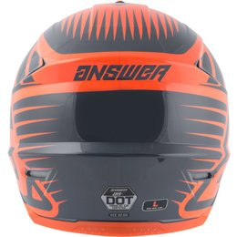 Answer Racing Youth AR-1 AR1 Edge Helmet Grey