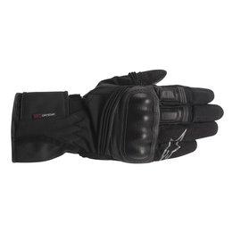 Black Alpinestars Mens Valparaiso Drystar Textile Gloves 2014