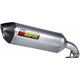 Akrapovic Slip-On Exhaust For Honda Interceptor 800 VFR800F 2014 Titanium Unpainted