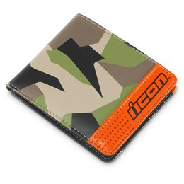 Icon Mens Deployed Bifold Wallet Green