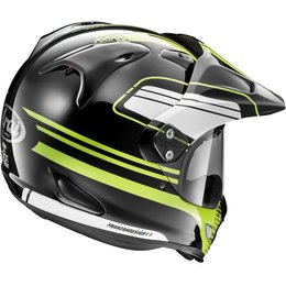 Arai XD-4 Distance Dual Sport Helmet With Flip Up Shield & Visor Yellow