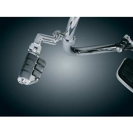 Kuryakyn ISO Peg Dually With Offset 1-1/4 Inch Diameter Clamps
