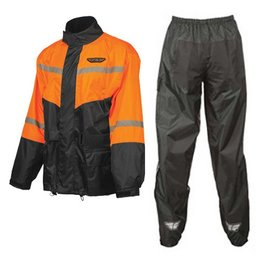 Fly Racing 2 Piece Rain Suit Orange