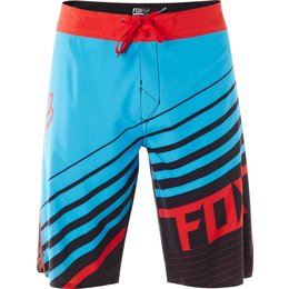 Fox Racing Mens Solvent Boardshorts Blue