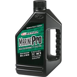 Maxima Marine Pro Premium Blend 2-Cycle Watercraft/Outboard Motor Oil 1 Gallon Unpainted