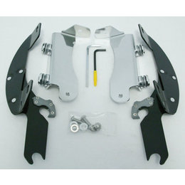 Memphis Shades Batwing Mount Kit Black For Kawasaki Vulcan 1700