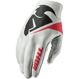 Thor Mens Invert Flection Textile Gloves White