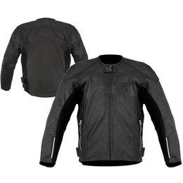Black Alpinestars Tz-1 Reload Leather Jacket Us 42 Eu 52
