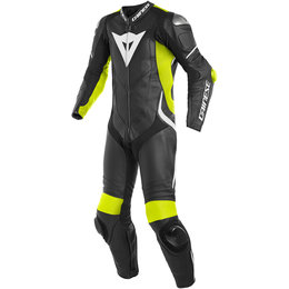 Dainese Mens Laguna Seca 4 1 Piece Perforated Leather Suit Black
