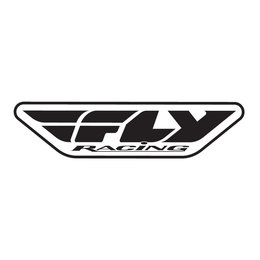 Black Fly Racing Corporate Logo Trailer Sticker Decal 45 Inch Each
