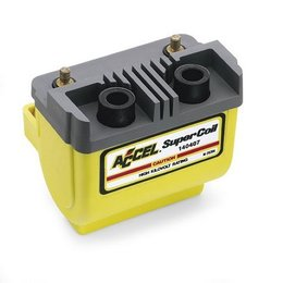 Accel Super Coil Points/Prestolite Yellow For Harley 65-79