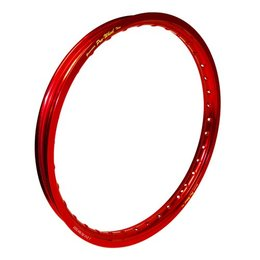 Pro-Wheel Front Rim For Big Bike 1.60x21 Aluminum Red For Kawasaki Suzuki Yamaha