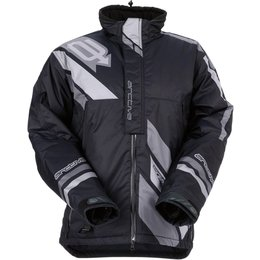 Arctiva Mens Comp Insulated Snowmobile Jacket Black