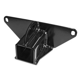KFI ATV 2 Inch Rear Receiver Hitch For Polaris Black 100645 Black