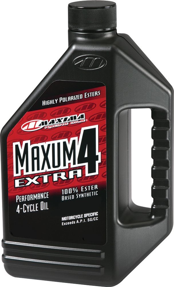 Maxima Extra4 Full Synthetic 4 Cycle Motorcycle