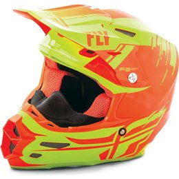 Fly Racing F2 Carbon Forge Cold Weather Helmet Yellow