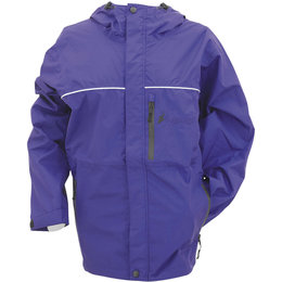 Frogg Toggs Womens Java Toadz Rain Jacket Purple