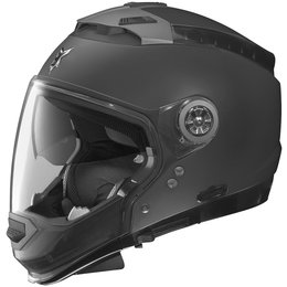 Flat Black Nolan Mens N44 Trilogy Outlaw Crossover Helmet 2014