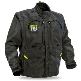 Fly Racing Mens Patrol Riding Jacket Black