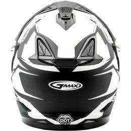 GMAX GM11 GM-11 Vertical Snowmobile Helmet With Dual Pane Shield Black