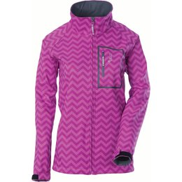 Divas Womens DSG Softshell Zip Front Jacket Pink