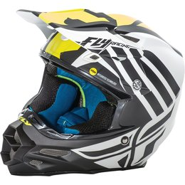 Fly Racing F2 Carbon Zoom MIPS Helmet White