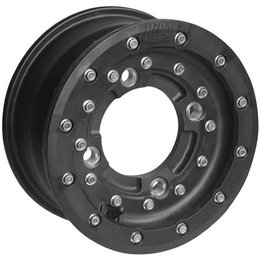 Hiper Wheel CF1 Racing Front Single Beadlock 10x5 3+2 Offset 4/144 Bolt Black