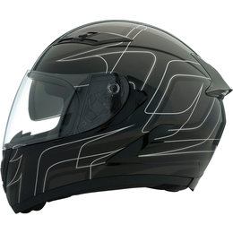 Z1R Strike OPS SV Full Face DOT Approved Helmet Black