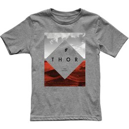 Thor Youth Boys Testing T-Shirt Grey