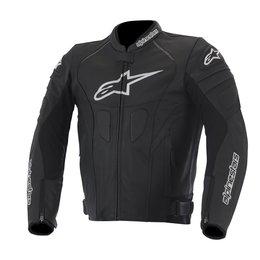 Black, White Alpinestars Mens Gp Plus R Perforated Leather Jacket 2014 Eu 48 Black White