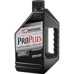 Maxima Pro Plus+ Maxum4 Full Synthetic Motorcycle Engine Oil 10W-30 1 Gallon Unpainted