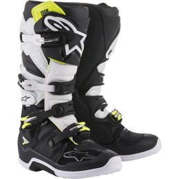Alpinestars Mens Tech 7 MX Motocross Off-Road CE Riding Boots Black