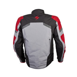 Scorpion Mens Optima Armored Textile Riding Jacket Red