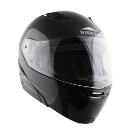 Vega Stealth Vertice Modular Helmet With Quick Release Chin Strap Black