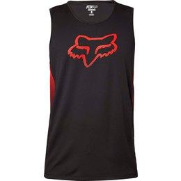 Fox Racing Mens Spawnic Performance Mesh Active Motocross Tank Top T-Shirt Black