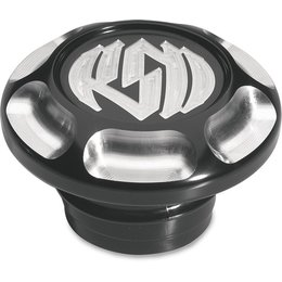 Black Rsd Gas Cap Billet Aluminum Anodized For Harley L96-10