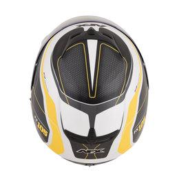 AFX FX-105 FX105 Thunderchief Full Face Helmet Yellow