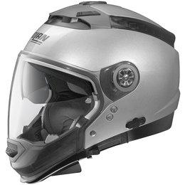 Platinum Silver Nolan Mens N44 Trilogy Crossover Helmet 2014